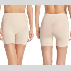 NEW Spanx Thinstincts Girl Short Medium Soft Nude